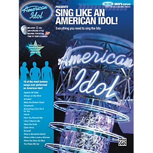 Alfred-American-Idol-Presents--Sing-Like-an-American-Idol--DELUXE-Men-s-Edition--Book-2-CD--Standard