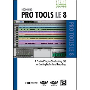 Alfred-Beginning-ProTools-LE-8--DVD--Standard