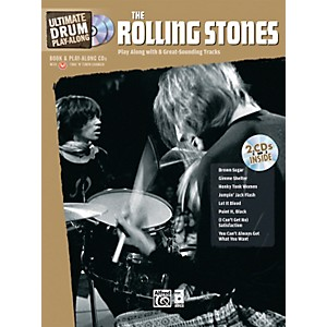 Alfred-The-Rolling-Stones-Ultimate-Drum-Play-Along--Book-2-CD--Standard