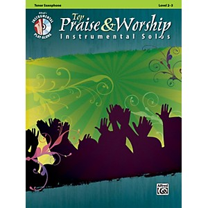 Alfred-Top-Praise---Worship-Instrumental-Solos---Tenor-Sax--Level-2-3--Book-CD--Standard