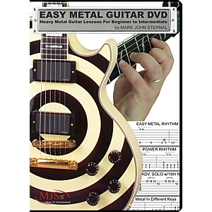 MJS-Music-Publications-Easy-Metal-Guitar--DVD--Standard