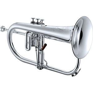 Jupiter-1646-XO-Professional-Series-Bb-Flugelhorn-Silver-Yellow-Brass-Bell
