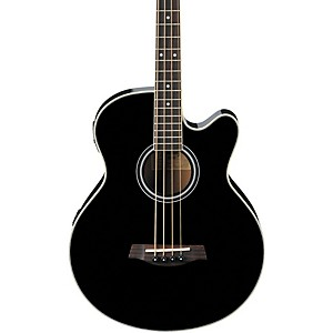 Ibanez-AEB5E-Acoustic-Electric-Bass-Black