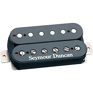 Seymour-Duncan-Custom-Shop-78-Humbucker-Short-Mounting-Legs-Double-Cream-Under-Unattached-Nickel-Cover-4-Wire-Black