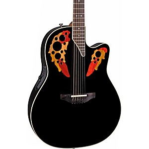Ovation-Standard-Elite-2778-AX-Acoustic-Electric-Guitar-Black
