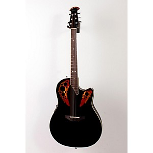 Ovation-Standard-Elite-6868-AX-Acoustic-Electric-Guitar-Black-888365160467