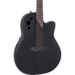 Ovation-Elite-2078-TX-Acoustic-Electric-Guitar-Black