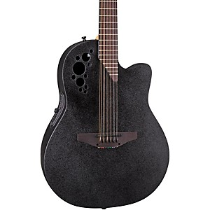 Ovation-Elite-2058-TX-12-String-Acoustic-Electric-Guitar-Black