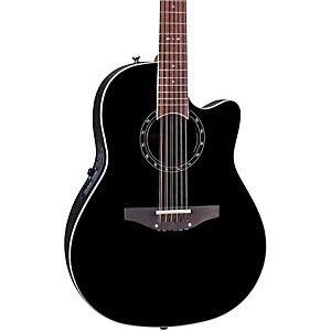 Ovation-Standard-Balladeer-2751-AX-12-String-Acoustic-Electric-Guitar-Black