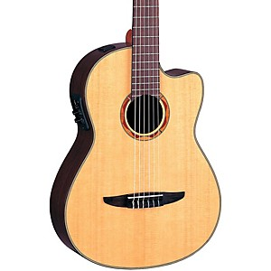 Yamaha-NCX900-Acoustic-Electric-Classical-Guitar-Natural