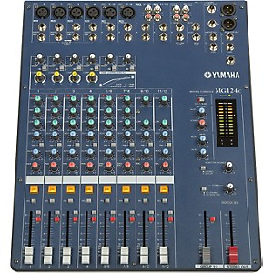 YAMAHA-MG124C-12-Input-Stereo-Mixer-with-Compression-Standard