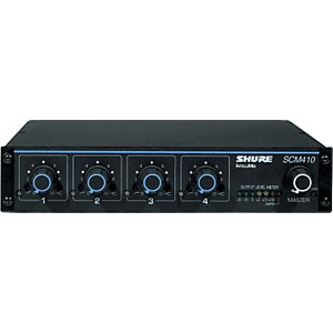 Shure-SCM410-4-Channel-Automatic-Mixer-Standard