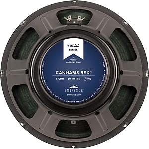 Eminence-Patriot-Cannabis-Rex-12--50W-Guitar-Speaker-with-Hemp-Cone-8-ohm