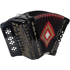 SofiaMari-SM-3412-34-Button-12-Bass-Accordion-GCF-Black-Pearl