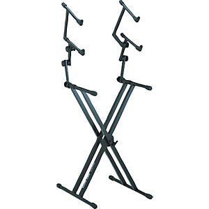 Quik-Lok-Three-Tier-Heavy-Duty-X-Keyboard-Stand-Standard