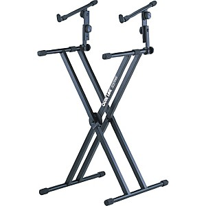 Quik-Lok-Two-Tier-Heavy-Duty-X-Keyboard-Stand-Standard