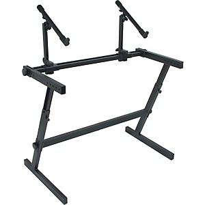 Quik-Lok-Two-Tier-Z-Keyboard-Stand-Standard