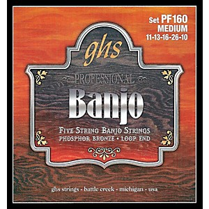 GHS-Phosphor-Bronze-5-String-Banjo-Strings-Medium-Standard