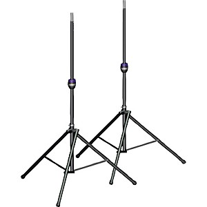 Ultimate-Support-TS-99BL-Tall-Leveling-Leg-Speaker-Stand-Pair-Black-Standard