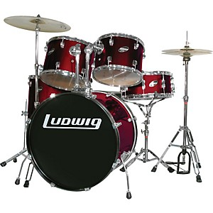 Ludwig-Accent-Combo-with-Zildjian-ZBT-Cymbal-Set-Standard