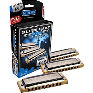 Hohner-532-Blues-Harp-Pro-Pack---MS-Series-Harmonicas-Standard