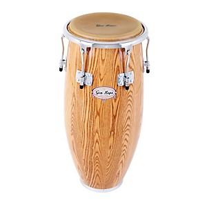 Gon-Bops-Alex-Acuna-Series-Quinto-Drum-Natural-Lacquer