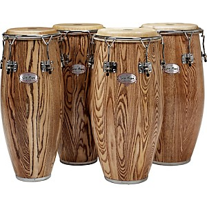Gon-Bops-Alex-Acuna-Series-Conga-Drum-Natural-Lacquer