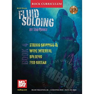 Mel-Bay-Rock-Curriculum--Fluid-Soloing-Book-4---Chord-Lead-Soloing-For-Guitar--Book-CD--Standard
