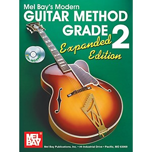 Mel-Bay-Modern-Guitar-Method-Expanded-Edition-Vol--2-Book-2-CD-Set-Standard