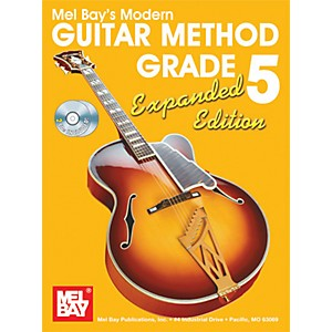 Mel-Bay-Modern-Guitar-Method-Expanded-Edition-Vol--5-Book-2-CD-Set-Standard