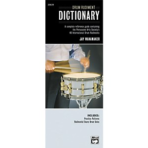 Alfred-Drum-Rudiment-Dictionary--Book--Standard