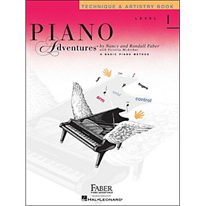 Faber-Music-Piano-Adventures-Technique---Artistry-Book-Level-1-Standard