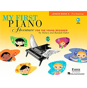 Faber-Music-My-First-Piano-Adventure-For-The-Young-Beginner-Lesson-Bk-A-Pre-reading-With-Book-CD-Standard