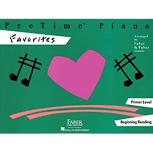 Faber-Music-Pretime-Piano-Favorites-Book-Primer-Level-Standard