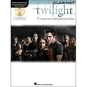 Hal-Leonard-Twilight-For-Clarinet---Music-From-The-Soundtrack---Instrumental-Play-Along-Book-CD-Pkg-Standard