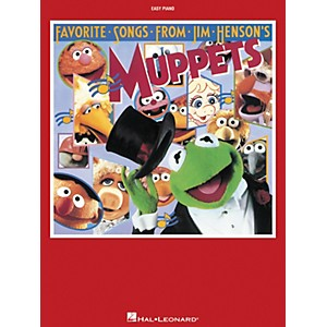 Hal-Leonard-Favorite-Songs-From-Jim-Henson-s-Muppets-For-Easy-Piano-Standard