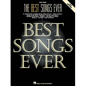 Hal-Leonard-Best-Songs-Ever-For-Easy-Piano-6th-Edition-Standard