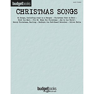 Hal-Leonard-Christmas-Songs---Budget-Books-Series-For-Easy-Piano-Standard