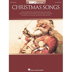 Hal-Leonard-The-Big-Book-Of-Christmas-Songs-For-Easy-Piano-2nd-Edition-Standard