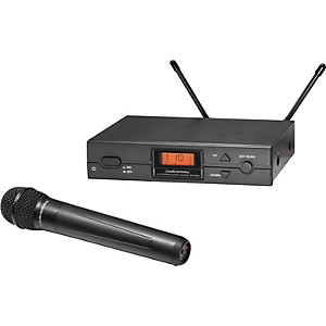 Audio-Technica-ATW-2120a-2000-Series-Handheld-Wireless-System-Channel-D