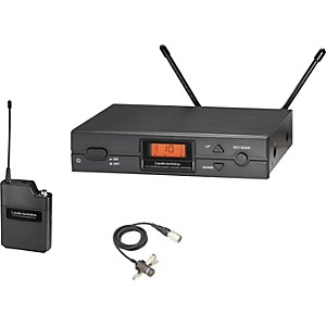Audio-Technica-ATW-2129a-2000-Series-Lav-Wireless-System-Channel-D