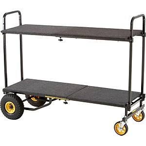 Rock-N-Roller-R10RT-8-in-1-Max-Multi-Cart-With-Deck-and-Shelf-Standard