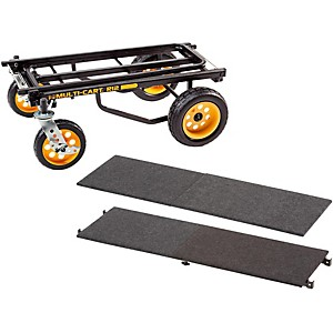 Rock-N-Roller-R12-Multi-Cart-8-in-1-Equipment-Transporter-Cart-With-Deck-and-Shelf-Standard