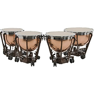 Adams-Professional-Series-Generation-II-Polished-Copper-Timpani--Set-of-4-Standard