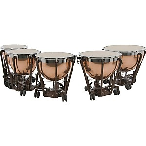 Adams-Professional-Series-Generation-II-Polished-Copper-Timpani--Set-of-5-Standard