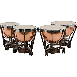 Adams-Professional-Series-Generation-II-Hammered-Copper-Timpani--Set-of-4-Standard