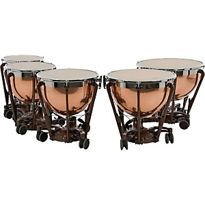 Adams-Professional-Series-Generation-II-Hammered-Copper-Timpani--Set-of-5-Standard