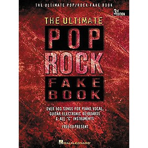 Hal-Leonard-The-Ultimate-Pop-Rock-Fake-Book-Standard
