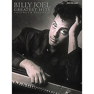 Hal-Leonard-Billy-Joel--Greatest-Hits-Volume-1---2-Piano--Vocal--Guitar-Songbook--Standard