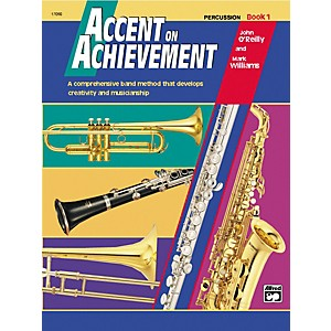 Alfred-Accent-on-Achievement-Percussion-Volume-1-with-CD-Standard